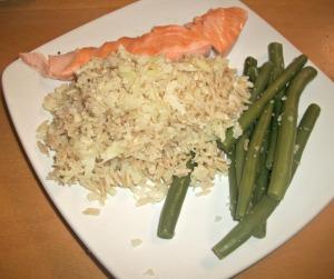My last fish dinner